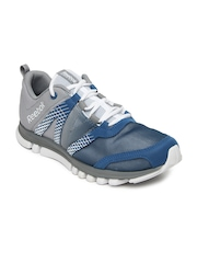 Reebok Men Grey & Blue Sublite Duo LX Training Shoes