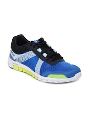Reebok Men Blue RealFlex Run 2.0 Tempo Sports Shoes