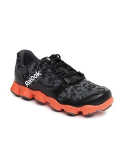 Reebok Men Black & Grey ATV19 Ultimate Running Shoes