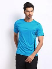 Reebok Men Blue T-shirt