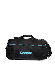Reebok Unisex Black Duffle Bag