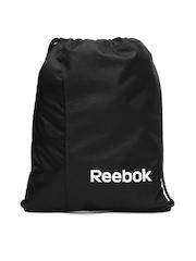 Reebok Unisex Black SE Gymsack Backpack
