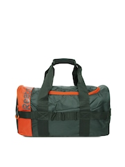 Reebok Unisex Dark Green Duffle Bag
