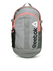Reebok Unisex Grey Backpack