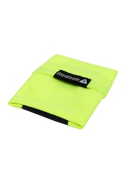Reebok Unisex Neon Green & Charcoal Grey Wristband