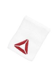 Reebok Unisex White Tennis Wristband