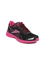 Reebok Women Black & Pink Fiery Run LP Running Shoes