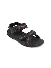 Reebok Women Black Thrust Sports Sandals