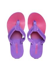Reebok Women Purple Flip-Flops