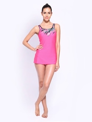 Reebok Women Pink Swimsuit
