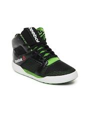 Reebok Women Black Dance Tempo Mid Dancing Shoes