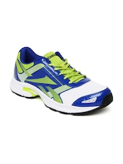 Reebok Men Blue & Green Speed Sports Running Shoes
