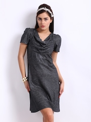Remanika Charcoal Grey Tailored Fit Dress