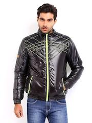 Republic of Speil Men Black Padded Jacket