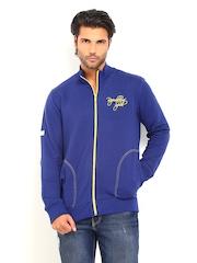 Republic of Spiel Men Blue Boom Sweatshirt