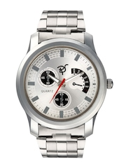 Rico Sordi Men Silver-Toned Dial Watch RSMW_S6