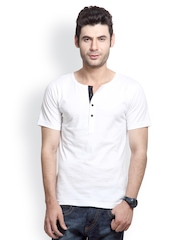 Rigo Men White T-shirt