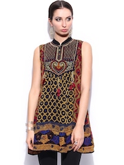 Ritu Kumar Women Multicoloured Embroidered Kurti