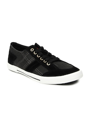 Roadster Men Black & Grey Casual Shoes