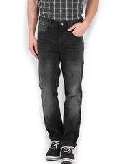 Roadster Men Black Corvette Slim Fit Jeans