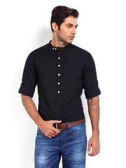 Roadster Men Black Shelby Slim Fit Casual Shirt