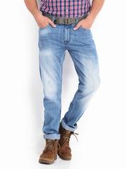 Roadster Men Blue Corvette Slim Fit Jeans