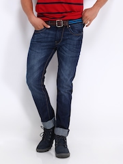 Roadster Men Blue Camaro Skinny Fit Jeans