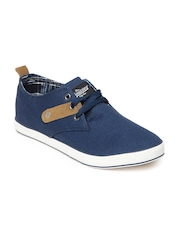 Roadster Men Blue Canvas Shoes