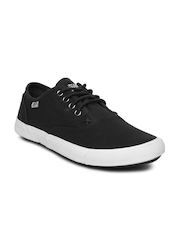 Roadster Men Black Canvas Shoes