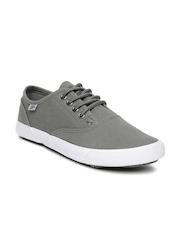Roadster Men Grey Canvas Shoes