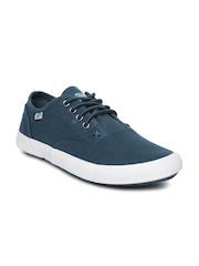 Roadster Men Navy Canvas Shoes
