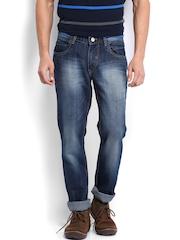 Roadster Men Dark Blue Slim Fit Jeans