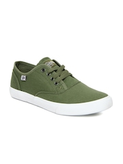 Roadster Men Green Casual Shoes