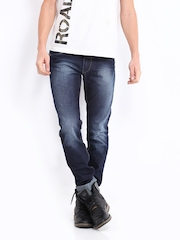 Roadster Men Indigo Corvette Slim Fit Jeans