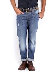 Roadster Men Indigo Corvette Slim Fit Jeans