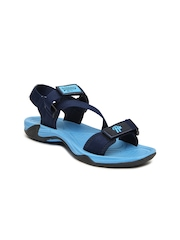 Roadster Men Navy Blue Sports Sandals