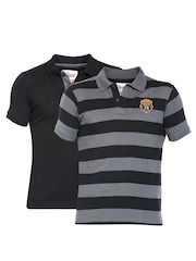 Roadster Men Pack of 2 Polo T-shirt