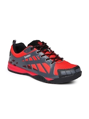 Roadster Men Red & Grey Sports Shoes
