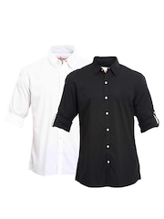 Roadster Men Selection of 2 Casual Shirts