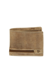 Roadster Men Mocha Brown Leather Wallet