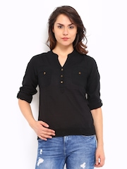 Roadster Women Black Top