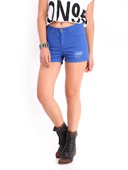 Roadster Women Blue Hot Shorts