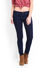 Roadster Women Navy Curvy Fit Jeans