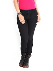 Roadster Women Black Skinny Fit Jeans