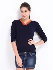 Roadster Women Navy Sweater