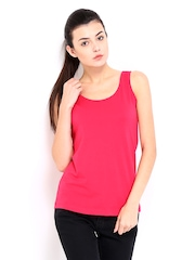 Roadster Women Pink Tank Top