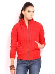Roadster Women Red Padded Jacket