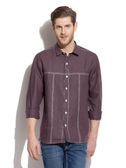 Men Brown The New Hunter Shirt Roar And Growl By Rajvi Mohan