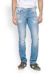 Rookies Men Blue Tapered Fit Jeans