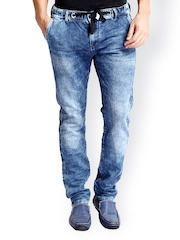 Rookies Men Blue Slim Fit Jeans